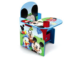 chair desk with storage bin delta children mickey mouse right side view spiderman