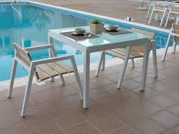 EMILY  Aluminium Garden Table Emily Collection By EfasmaAluminium Outdoor Furniture
