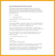 Thank You Letter After Job Interview Download Free Documents