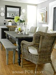 grey wash dining table. Like The Bench Color And Style But Make Into Coffee Table For Beach. Grey Wash Dining