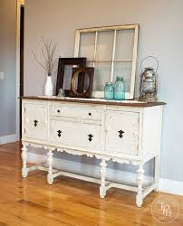 decorating with vintage furniture. sideboard buffet hutch chalk paint makeover decorating with vintage furniture