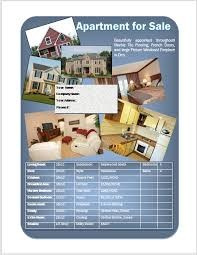 Apartment For Sale Flyer Flyers And Brochures Sale Flyer