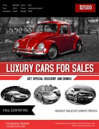Car Dealership Flyer Templates Create A Car Sale Flyer Online In Minutes Postermywall