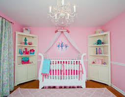 dining room ba nursery design idea using white crib complete with for attractive residence baby chandelier