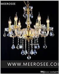Moderne Kristall Kronleuchter Lampe Fixture Schwarz Champagner Kristall Licht Kerze Glas Kronleuchter Beleuchtung Glanz Wohnzimmer Mds01