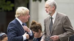 Image result for Image Johnson and Corbyn