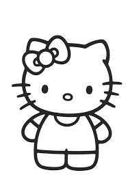 Hello Kitty Da Colorare Per Bambini Con Disegni Per Bambini Da