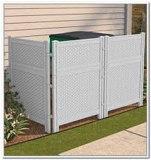 outside trash can storage home design ideas for bin 12