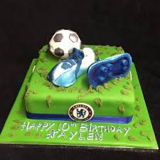 Football Birthday Cake Celticcakescom