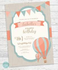 Up Up And Away Lovely Hot Air Balloon Baby Shower  Air Balloon Vintage Hot Air Balloon Baby Shower