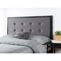 cheap upholstered headboards. Fine Headboards Product Image Zinus Button Tufted Grey Upholstered Metal Headboard  Multiple Sizes Throughout Cheap Headboards A