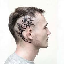 Nejlepší Tetování Na Hlavě Pro Muže Black House Tattoo Praha