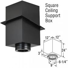 6 duratech 24 square ceiling support box 9438b