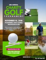 Golf Tournament Brochure Template - Kleo.beachfix.co