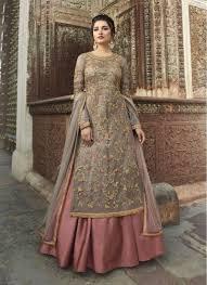Best Designer Salwar Suits Online Grey Heavy Work Bridal Wedding Wear Unique Designer Anarkali