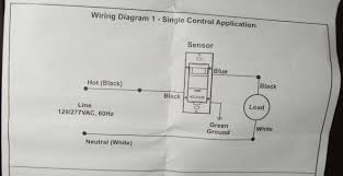 how to install an occupancy sensor light switch part 2 Motion Sensor Light Switch Wiring Diagram leviton ods10 occupancy sensor wall switch wiring diagram motion sensor light switch circuit diagram
