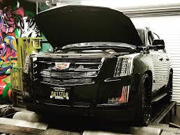 Steve Meade Designs 2015 Cadillac Escalade Armageddon Twin Turbo Install Going