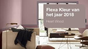 Flexa Kleur Van Het Jaar 2018 Heart Wood De Ruijtermeubel