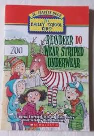 image is loading reindeer do wear striped underwear the bailey