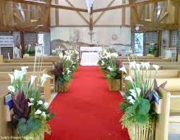 Wedding Flowers Arrangements Ideas Church