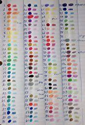 Color Family Chart Image Result For 150 Sudee Stile Colored Charts By Color