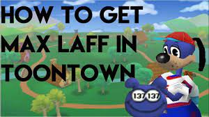 how to get max laff points in toontown