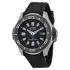 citizen eco drive watches jomashop citizen black dial black rubber strap men s watch