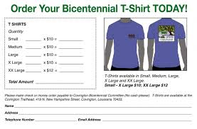 T Shirt Order Forms Shirt Order Forms Template Business 22