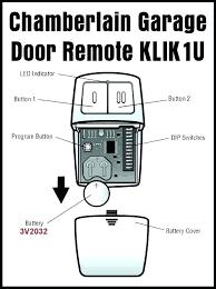 er universal remote garage door keypad reset with no enter on programming instructions r