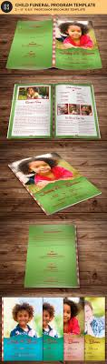Child Funeral Program Template Child Funeral Program Template Photoshop By Godserv24 GraphicRiver 15