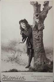 """Mabel Eaton in """"As You Like It."""" Photographer: William M. Morrison,  Chicago. @1893. 