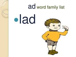 Word With Ad A Vowel Words