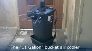 Solar Power Cooler Homemade Air Conditioner Diy The 11 Gallon Bucket Air Cooler