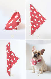 diy valentine s day dog bandana julep