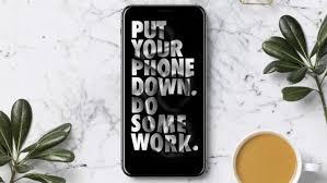 put the phone down 625x1109 wallpaper