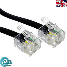router extension cable ebay How To Make A Rj11 Telephone Extension Cable Wiring Diagram rj11 to rj11 cable adsl bt broadband modem internet dsl phone router lead wire