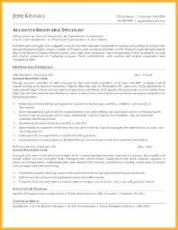 Accounting Job Resume Accounts Receivable Resume Resume Accounting ...
