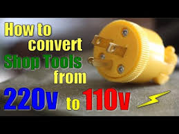 shop work how to convert 220v to 110v shop work how to convert 220v to 110v