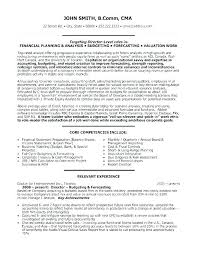 Financial Reporting Manager Sample Resume
