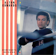 "Alton Edwards Everybody's Watching 12"" vinyl single record (Maxi) UK MKHAN5  