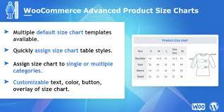 Button Size Chart Woocommerce Advanced Product Size Charts