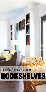 Build Your Home Free Plans For Built In Bookshelves