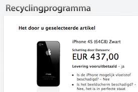 iphone 3gs inleveren voor geld