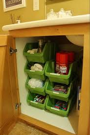 stacking plastic bins under bathroom cabinet these stacking containers from the dollar tree stack vertically