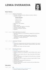 Freelance Translator Resume Samples Best Of Spanish Interpreter