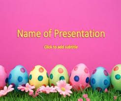 Easter Religious Background For Powerpoint