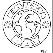 8 Free Printable Earth Day Coloring Pages