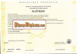 fake diploma from french university com  university of paris pantheon sorbonne maitrise diploma from
