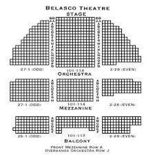 Belasco Theater Seating Chart Belasco Seating Chart Yelp