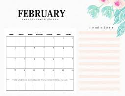 write in calendar 2018 february 2018 calendar printable 10 free choices home printables